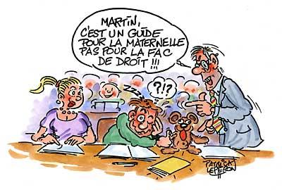 Maternelle : relis le Guide !