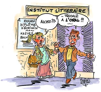 Suisse : vain sur vingt au diplôme d'écrivain ?