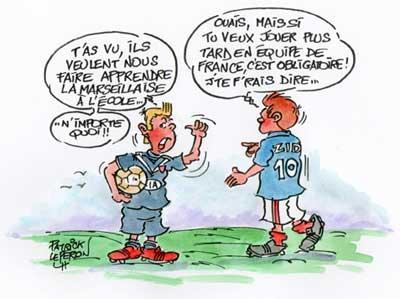 La Marseillaise à l'école : c'est oui !