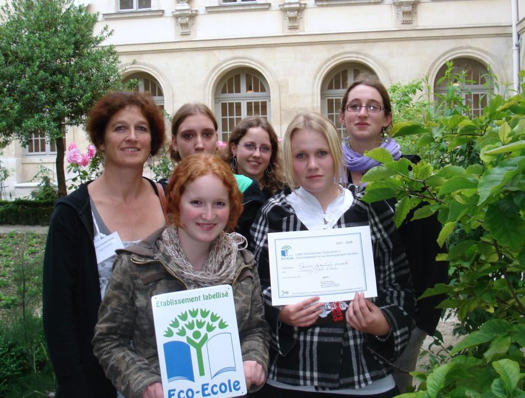 Eco-Ecole le label des élèves citoyens