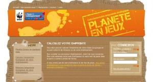 Planète enjeux : un kit pédagogique sur l'empreinte écologique