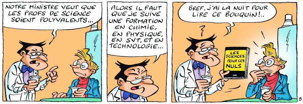 Un prof «omnisciences» !