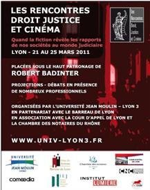 Droit et justice au cœur du cinéma : des rencontres à Lyon