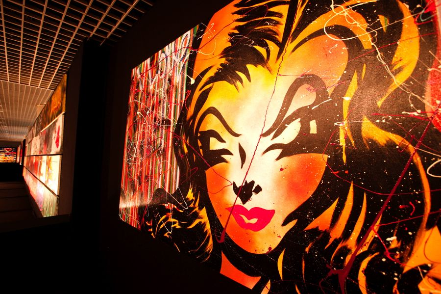 L'art du graffiti porté à son paroxysme au Grimaldi Forum de Monaco