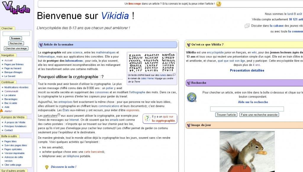 Vikidia, la Wikipedia des 8-13 ans