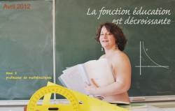 Profs nus : «j'ai prêté mon image pour défendre l'école»