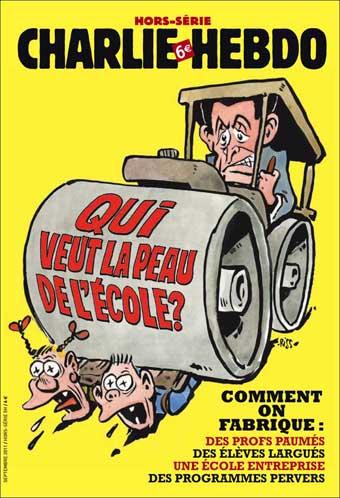 Hors-série Charlie Hebdo «Qui veut la peau de l'école ?»