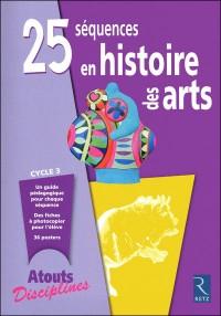 Publication : 25 séquences en histoire des arts