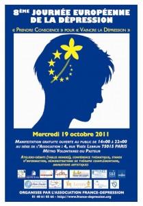 Dépression : une Journée européenne de sensibilisation