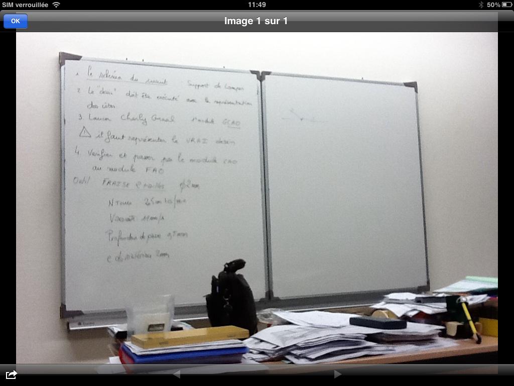 Dyslexique, elle prend ses notes sur un iPad