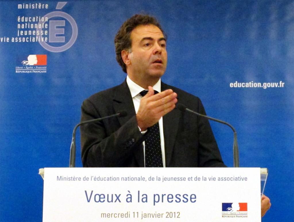 Luc Chatel promet une année 2012 «passionnante»