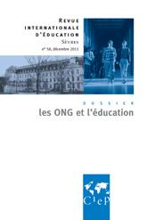Revue de Sèvres : les ONG et l'éducation