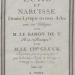 Echo et Narcisse de Gluck