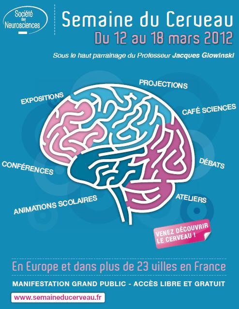 Du 12 au 18 mars, une semaine pour découvrir le cerveau