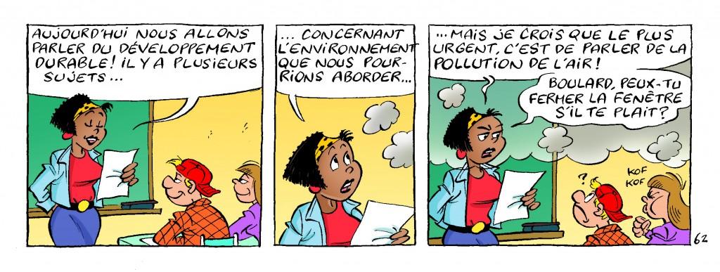 Alerte à la pollution dans la classe !
