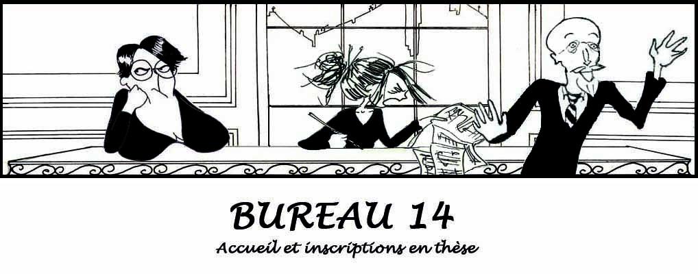 Le quotidien de l'administration de la Sorbonne en BD