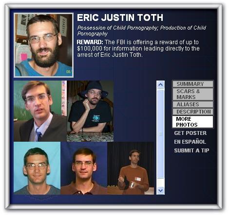 Un instituteur remplace Ben Laden sur la liste des dix fugitifs les plus recherchés par le FBI