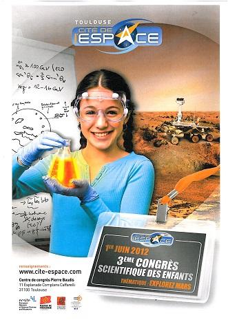 Communiqué : 3ème Congrès scientifique des enfants à Toulouse