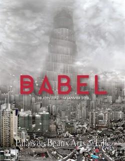 Affiche expo Babel – Palais des Beaux-Arts Lille