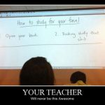 How to study for you final demotivational poster