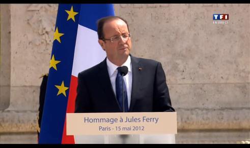 François Hollande : l'école, «arme de l'égalité républicaine»