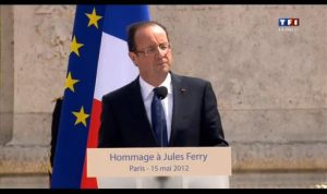 Discours de François Hollande aux Tuileries