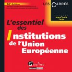 Institutions de l'Union Européenne Jean-Claude Zarka Gualino