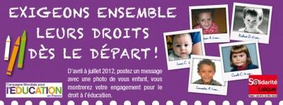 Campagne Mondiale pour l'Education 2012