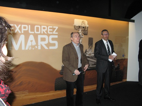 «L'homme posera le pied sur Mars d'ici la fin du siècle»