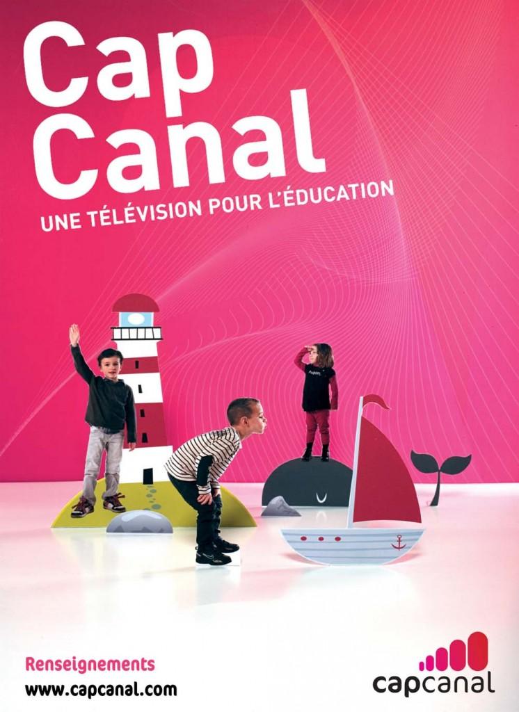 Cap Canal, la chaîne de télévision 100 % éducation