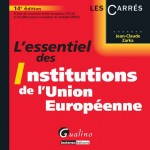 Institutions de l'Union Européenne Gualino Jean-Claude Zarka