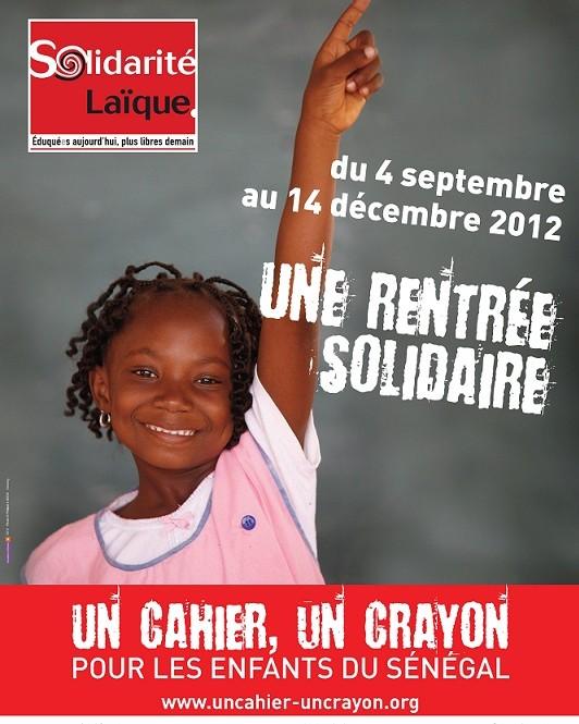 Communiqué : «Un cahier, un crayon» pour les enfants du Sénégal !