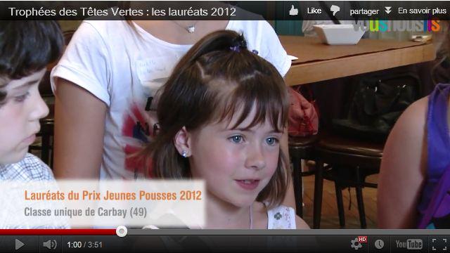 Trophées des Têtes Vertes : les lauréats 2012