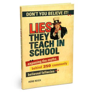 Couverture livre Lies They Teach in School