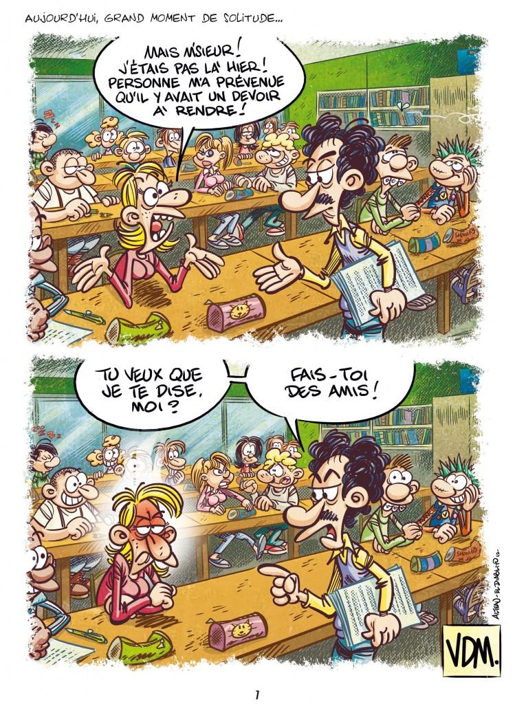 BD «Vie de merde : Les profs»