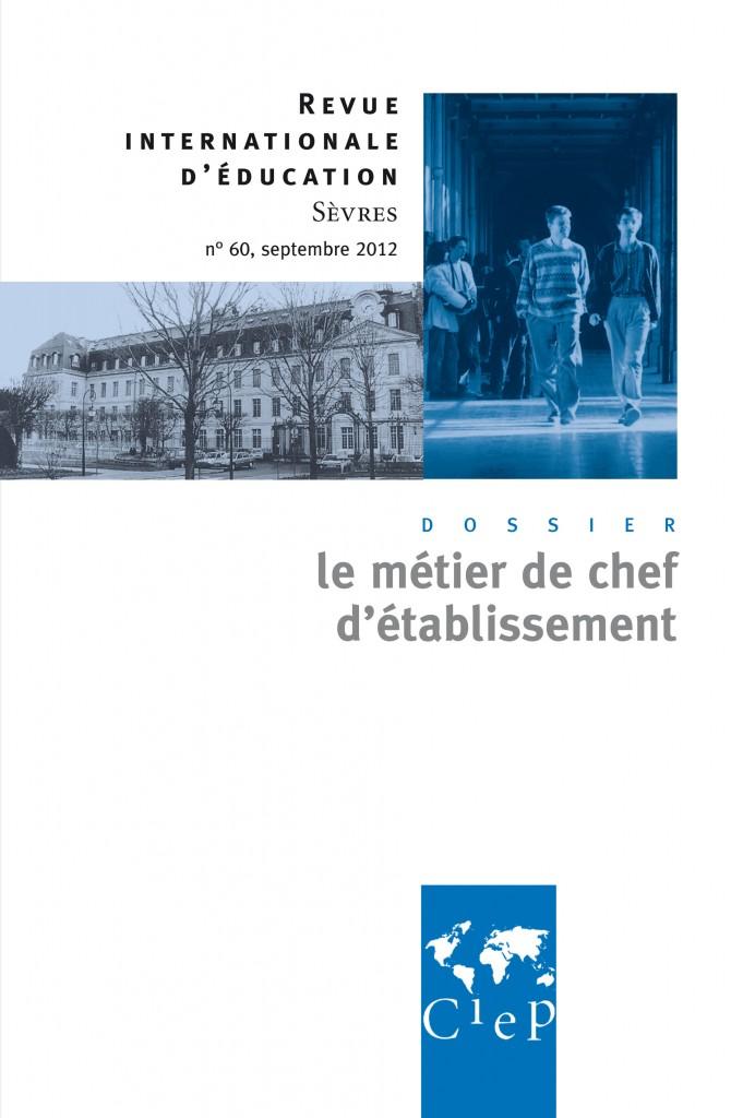 Revue de Sèvres : le métier de chef d'établissement dans le monde