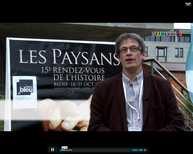 Rendez-vous de l'histoire de Blois 2012 : rencontres avec des passionnés
