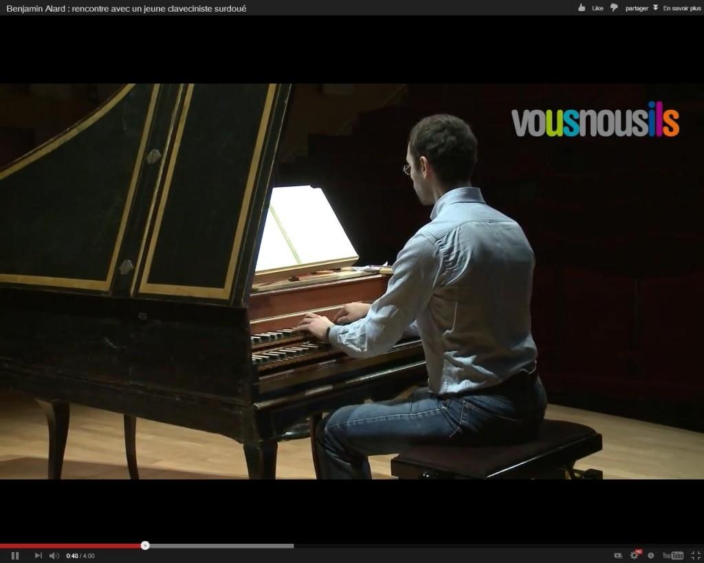 Benjamin Alard : rencontre avec un jeune claveciniste surdoué