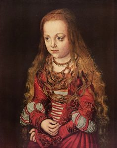 Cranach, Lucas the Elder A Princess of Saxony 1517