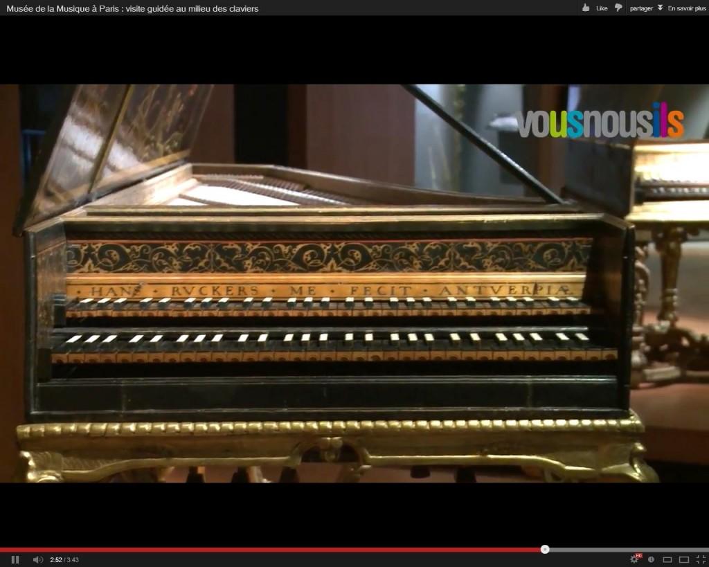 Musée de la Musique à Paris : visite guidée au milieu des claviers