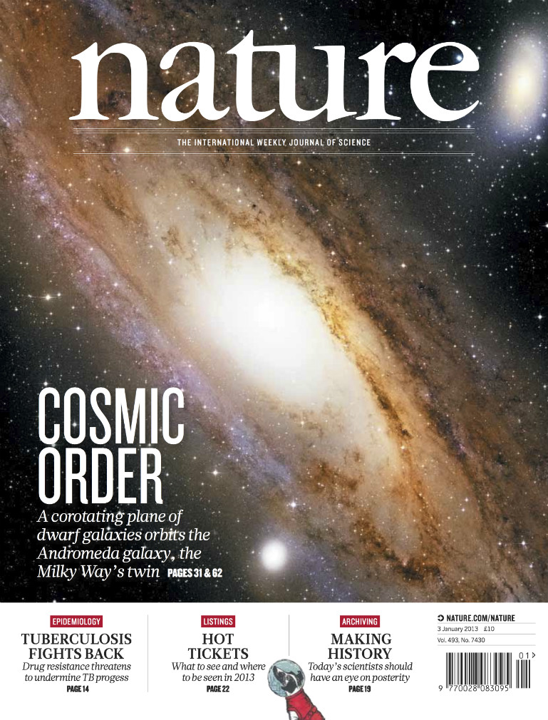 A 15 ans, il cosigne une étude d'astrophysique dans la prestigieuse revue «Nature»