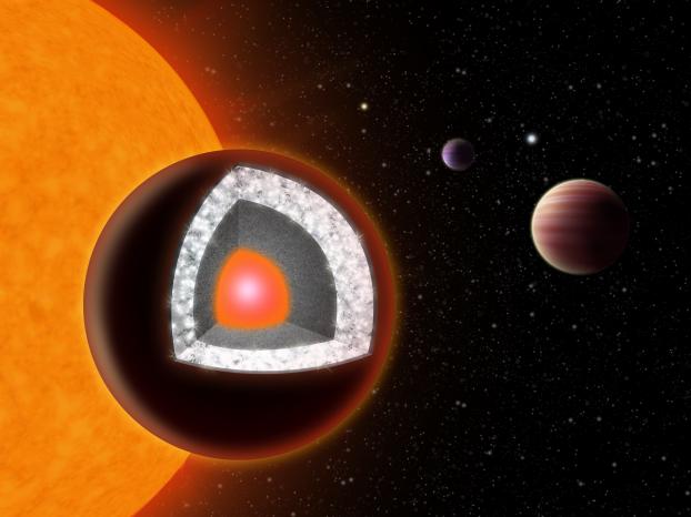 Astrophysique : un diamant gros comme deux fois la Terre dans l'espace