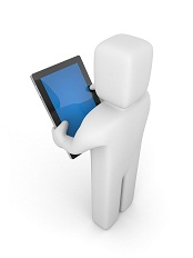 Person with tablet computer © AKS - Fotolia.com