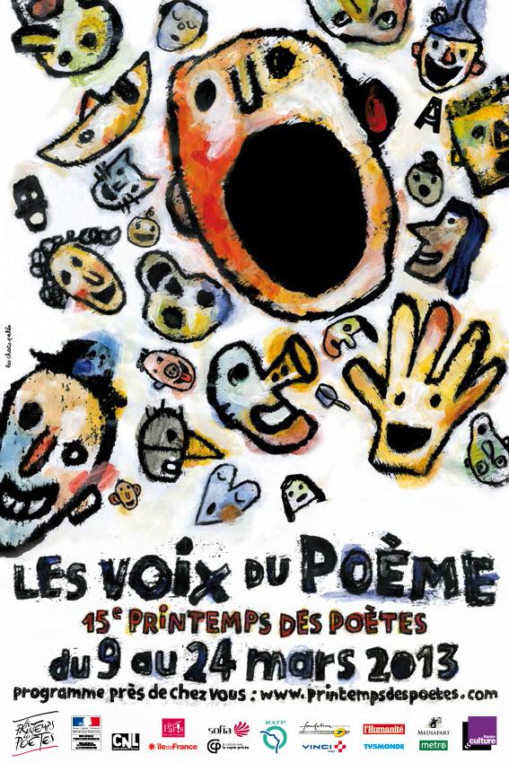 Présentation de la 15e édition du Printemps des Poètes : le poème en voix