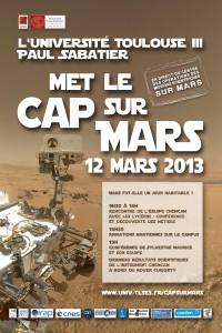 Une journée sur Mars à l'Université Toulouse III