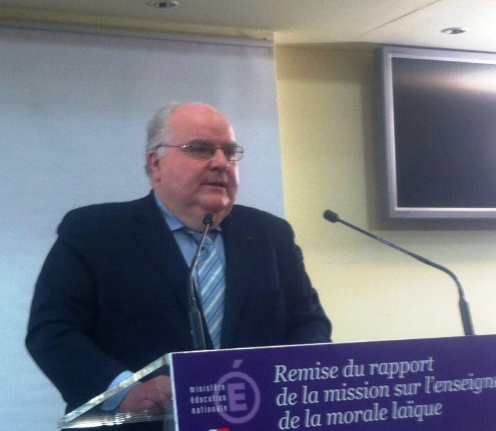 Rapport sur la morale laïque : «La morale est indissociable de l'acte éducatif»