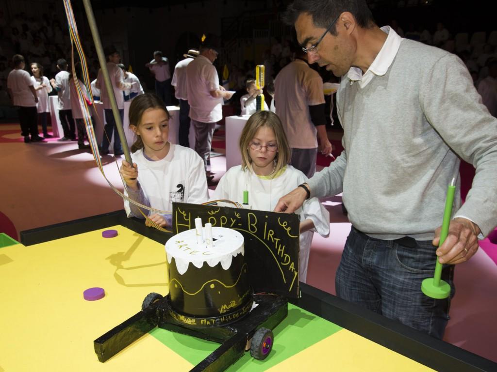 Robotique pédagogique et machines à mesurer le temps au festival Artec 2013