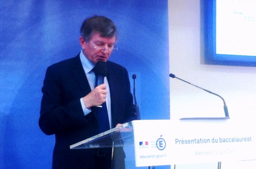 Jean-Paul Delahaye (DGESCO): «Le baccalauréat ne souffre pas d'immobilisme»