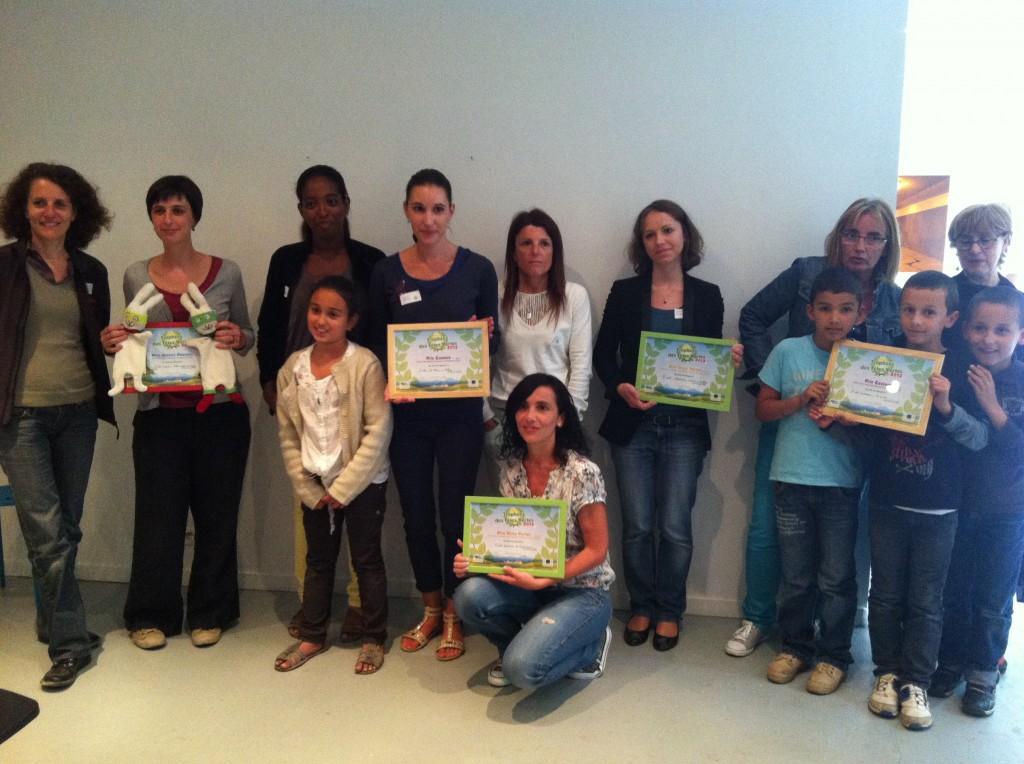 Développement durable : les projets des écoles récompensés aux Trophées des Têtes Vertes 2013