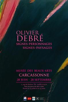 Olivier Debré exposé à Carcassonne cet été